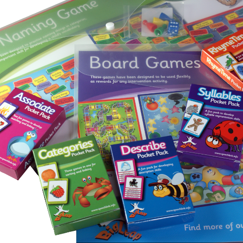 Pocket Packs and Board Games